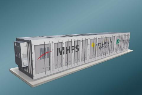 Key Capture Energy选择了MHPS和Powin来建设三个电池储能系统(BESS)项目,在德克萨斯州总计200 MW。 显示:BESS渲染。 (图示:美国商业资讯)