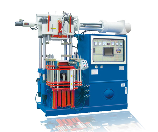 automatic vertical rubber injection molding machine