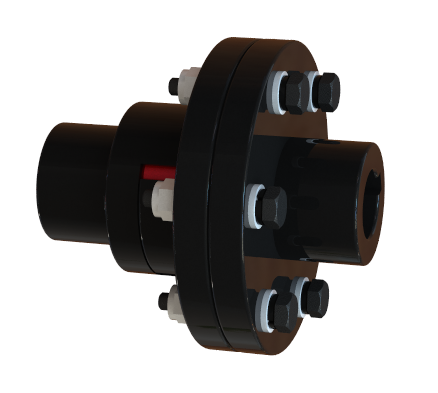 Gear shaft coupling