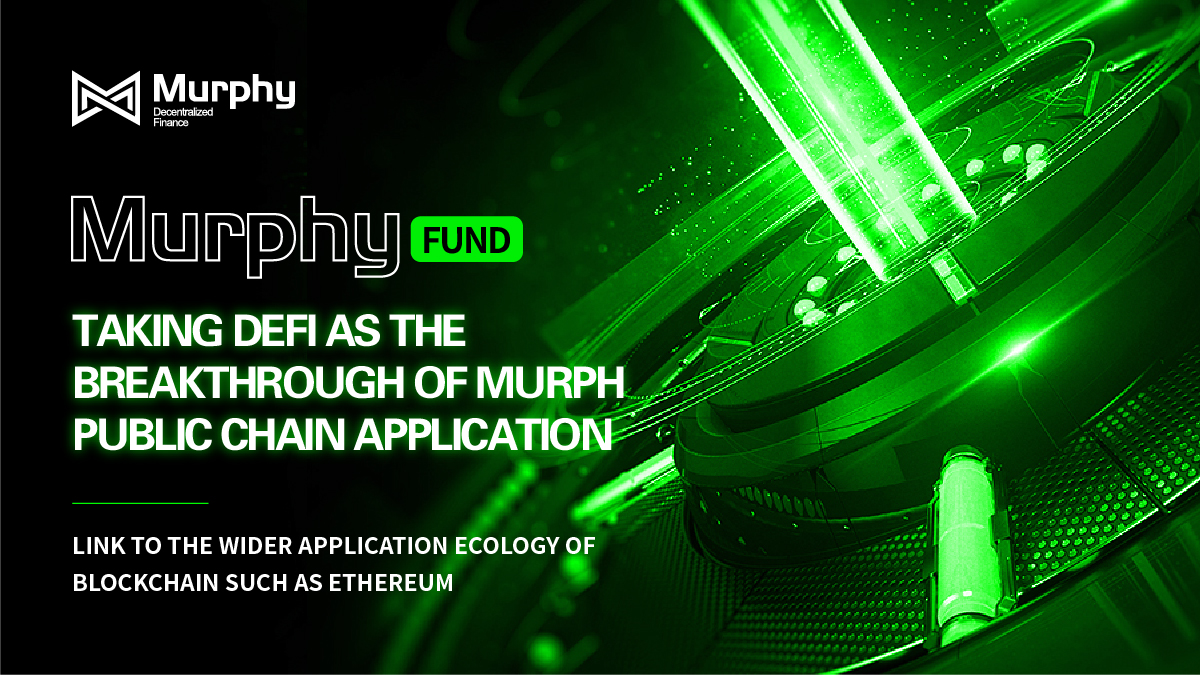Murphy : deconstruct DeFi ecosphere and create a new decentralized financial platform