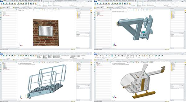生使用中望3D创建的模型